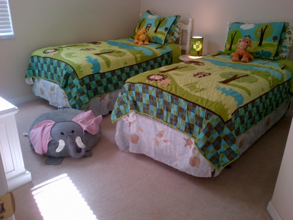 Dejligt børneværelse og legerum