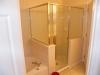 Brusebad i mastersoveværelset